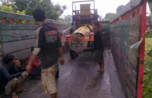 Pengiriman Stonecrusher Mobile By Cv Bengkel Murni